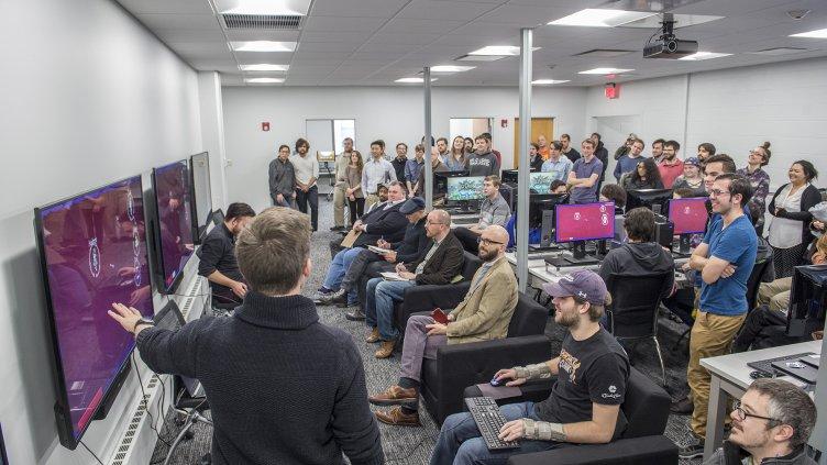 Students showcase original video games at Arcade Day 2018