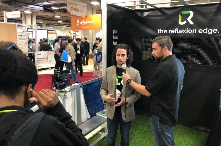 Matt Campagna gives an interview on Reflexion Edge